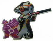 Mascot Clay pigeon shooting London 2012
